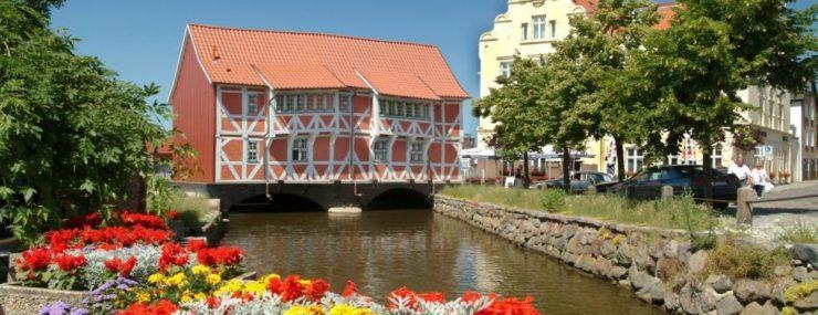 Am Ende der Grube befindet sich das Gewölbe und bildet die Verbindung zur Ostsee, © Tourismuszentrale Wismar (Author: © Tourismuszentrale Wismar)
