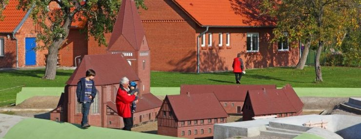 Maßstabgerechtes Modell der Festung Kirchdorf, © Kurverwaltung Ostseebad Insel Poel (Author: © Kurverwaltung Ostseebad Insel Poel)
