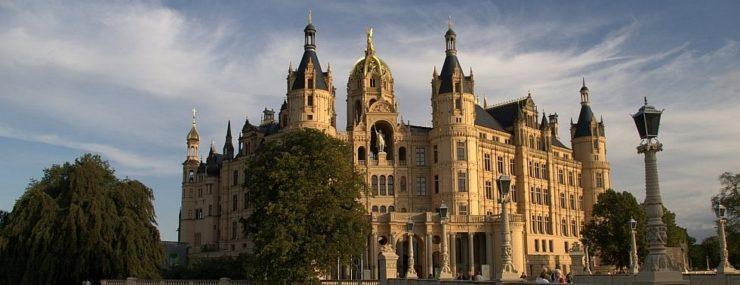 Das Schweriner Schloss ist das Wahrzeichen der Landeshauptstadt, © Carsten Pescht (Author: © Carsten Pescht)