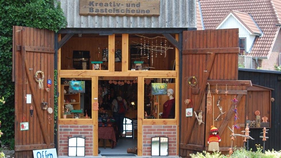 Eingang in die Kreativ- und Bastelscheune, © Kreativ- und Bastelscheune/Hoffmeister (Author: © Kreativ- und Bastelscheune/Hoffmeister)
