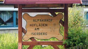 Unser Hof-Schild- gebaut von einer Einrichtung für psychisch Kranke und behinderte Menschen, © Marco Holter (Author: © Marco Holter)